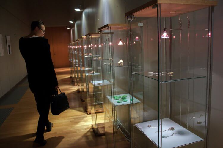 jewelery exhibition in the city of Philharmonic Orchestra of Lodz
